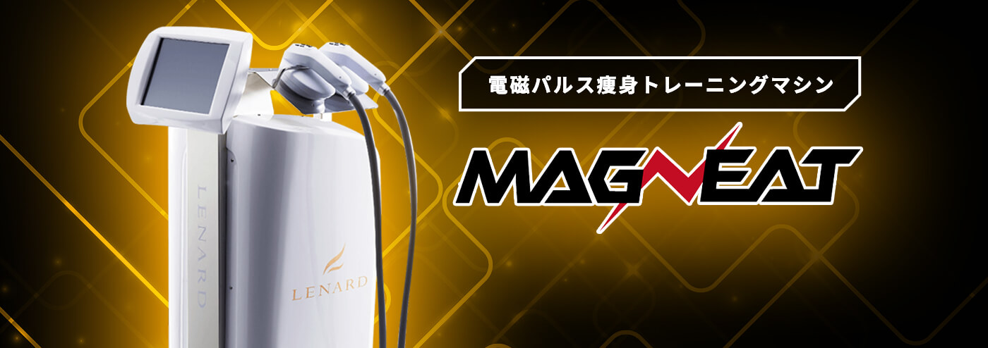 電磁パルス痩身トレーニングマシンMAGNEAT(マグニート)